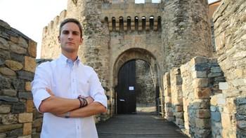 El periodista de CyLTV Sergio García Saseta premio Luis Laforga de televisión