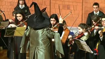 Los alumnos del Conservatorio de León celebran el 20 aniversario de Harry Potter con dos obras benéficas