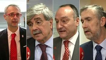 Los cuatro rectores de las universidades públicas de Castilla y León piden una selectividad única