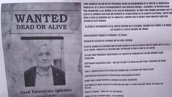 Carteles anónimos amenazan a la Hermandad Dominicana de Salamanca