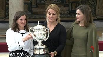 Lydia Valentín recibe el Premio Nacional del Deporte de 2016
