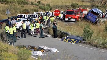 La Fiscalía pide cuatro años de prisión para el conductor del autobús en el que fallecieron nueve personas en el accidente Tornadizos