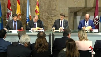 Castilla y León, Asturias, Galicia y Aragón piden una financiación que atienda al coste real de los servicios y no castigue a las regiones más 'cumplidoras'