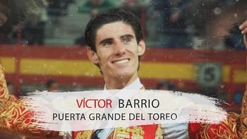 Víctor Barrio. Puerta Grande del toreo