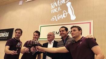 La asociación 'Jóvenes por el vino' celebra sus primeras jornadas en Emina