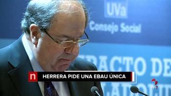 Herrera pide un 'esfuerzo sin fisura' para evitar el 'perjuicio' de los alumnos de la Comunidad por la falta de una EBAU única
