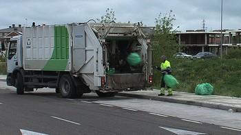 La resaca de la fiesta ITA deja 10.000 kilos de basura en Palencia