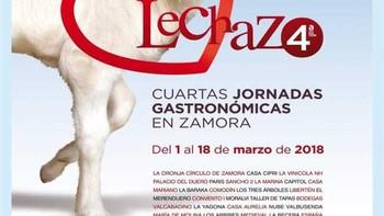 Arrancan las IV Jornadas Gastronómicas del Lechazo en Zamora