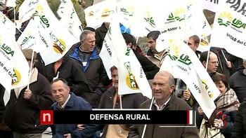 Más de 1.500 agricultores exigen políticas eficaces contra la despoblación y de desarrollo
