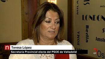 Teresa López gana las primarias a Vadillo y ocupará la Secretaría Provincial del PSOE de Valladolid
