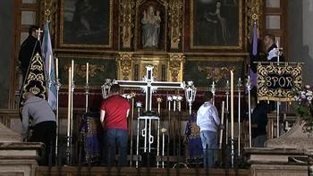 Las cofradías ya lo tienen todo preparado para las procesiones de Semana Santa