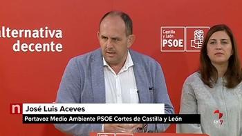 El PSOE exige a la Junta que se adhiera con Asturias y Galicia al Fondo de Solidaridad Europeo por los incendios