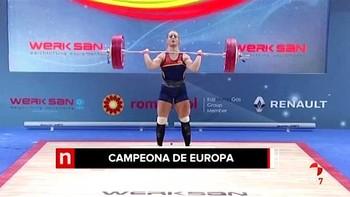 Lydia Valentín se proclama campeona de Europa de halterofilia por cuarta vez tras lograr el oro en Bucarest