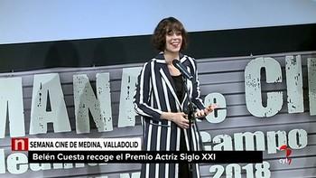 La Semana de Cine de Medina del Campo nombra 'actriz del siglo XXI' a Belén Cuesta