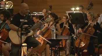 Celtas Cortos se mezcla con los m�sicos de la Orquesta Sinf�nica de Castilla y Le�n