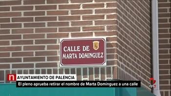Palencia retira a la exatleta Marta Domínguez de su callejero