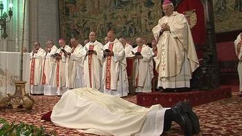 Manuel Herrero es ordenado Obispo de Palencia en la catedral