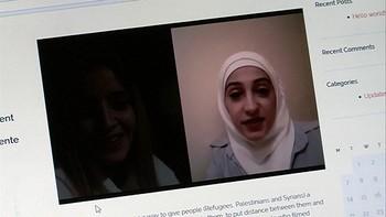 La guerra y los sueños de los refugiados sirios