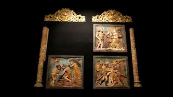 Desaparecen tres relieves del monasterio de San Juan de Ortega, Burgos