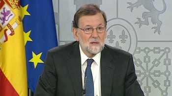 Rajoy acusa a Sánchez de querer llegar al Gobierno a cualquier precio incluso pactando con Puigdemont, Torra y Bildu
