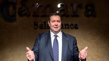 Benjamín Crespo, nuevo presidente de la Cámara de Comercio de Salamanca