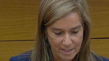 Ana Mato dice que dimite para no perjudicar al Gobierno de Espa�a y a Rajoy
