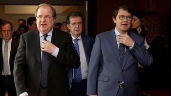 Herrera a Mañueco: 'Todo es fruto del esfuerzo, nadie regala nada ni existen graneros de votos'