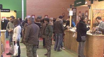 La Feria de la Trufa negra de Soria en la localidad serrana de Abejar
