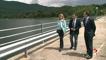 La Confederación hidrográfica del Tajo tranquiliza sobre la seguridad de la presa de Los Morales