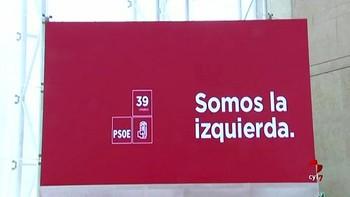 El PSOE inicia su 39 Congreso Federal bajo el lema 'Somos la izquierda'