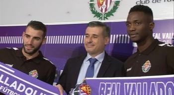 Antoñito y Sulayman quieren aumentar la competencia en el Real Valladolid