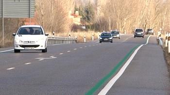 Palencia comienza a instalar radares de tramo en sus carreteras para reducir la siniestralidad