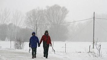 Protección Civil informa que la cota de nieve se sitúa este domingo por encima de los mil metros, con mínimas de 9 grados bajo cero