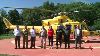 Barcones visita la BRIF de Tabuyo del Monte, León, parte del dispositivo antiincendios del MAPA