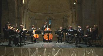 Parte de la Orquesta Sinf�nica de Alemania en un concierto exclusivo en Segovia