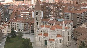 La torre sur de la catedral de Valladolid descubre una vista 'in�dita' de la ciudad