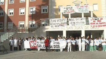 El Hospital San Juan de Dios cesar� su actividad con el Sacyl si la Junta no modifica su criterio