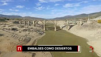 Problemas con la calidad del agua en la provincia de Ávila por el exiguo caudal del embalse de El Burguillo