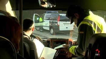 Denunciado un conductor de autobús escolar por dar positivo en cocaína en Béjar, Salamanca
