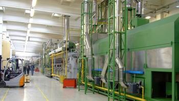 La producción industrial en Castilla y León baja en junio un 0,3%, por debajo del descenso del 2% en España
