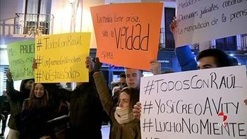 Vecinos de Aranda piden presunción de inocencia para los futbolistas acusados de agresión sexual