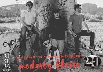 Los madrileños Modesty Blaise, ganadores del IV Talento Ribera