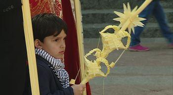 El buen tiempo acompa�a a la Borriquilla el domingo de Ramos en su recorrido por Castilla y Le�n