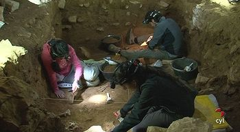 Hallan vestigios de los primeros pobladores de la zona en el yacimiento de Villanueva de Arriba
