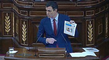 Pedro S�nchez gana por siete d�cimas a Mariano Rajoy el debate sobre el estado de la naci�n