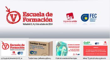 Castilla y Le�n, lanzadera de IU para hacer llegar a la ciudadan�a su discurso