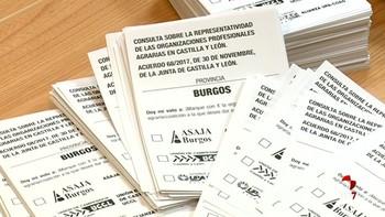 Más de 40.000 agricultores y ganaderos podrán votar en 622 mesas electorales
