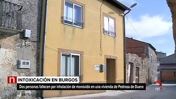 Mueren dos personas por inhalación de monóxido en una vivienda de Pedrosa de Duero