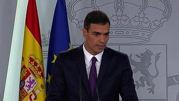 Sánchez afirma que con su Gobierno se inaugura un 'cambio de época'
