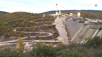 La puesta en funcionamiento de la presa de Castrovido peligra por culpa de la sequía